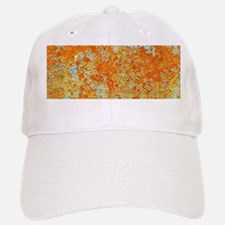 YELLOW RUSTY METAL Baseball Baseball Cap