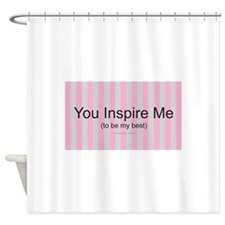 Inspire Be Best Shower Curtain