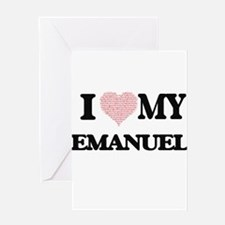 I Love my Emanuel (Heart Made from Greeting Cards