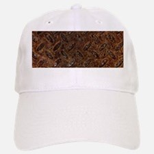 RUSTY METAL PATTERN Baseball Baseball Cap
