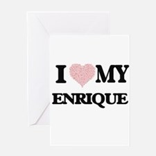 I Love my Enrique (Heart Made from Greeting Cards