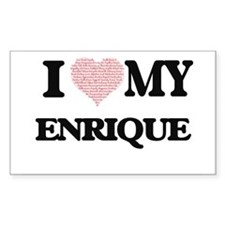I Love my Enrique (Heart Made from Love my Bumper Stickers