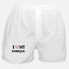 I Love my Enrique (Heart Made from Lo Boxer Shorts