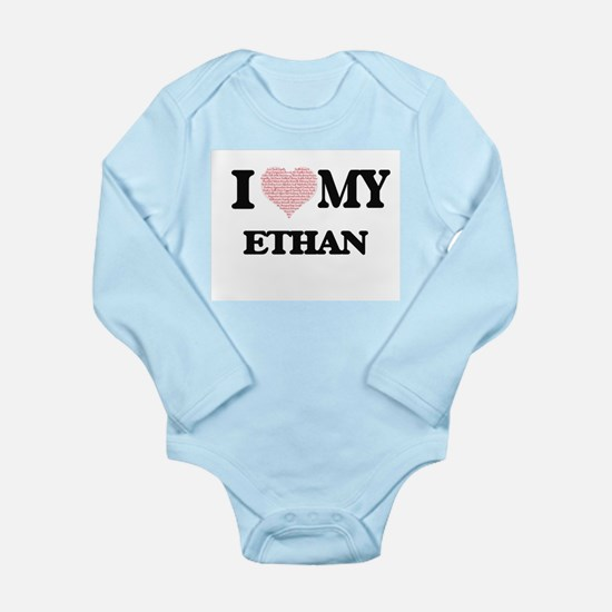 I Love my Ethan (Heart Made from Love my Body Suit