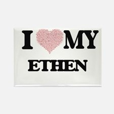 I Love my Ethen (Heart Made from Love my w Magnets