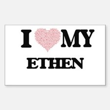 I Love my Ethen (Heart Made from Love my w Decal
