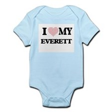 I Love my Everett (Heart Made from Love Body Suit