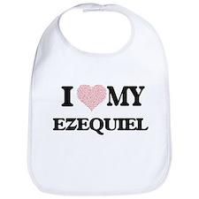 I Love my Ezequiel (Heart Made from Love my wo Bib