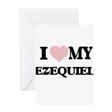 I Love my Ezequiel (Heart Made from Greeting Cards