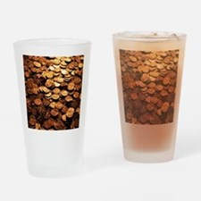 PENNIES Drinking Glass