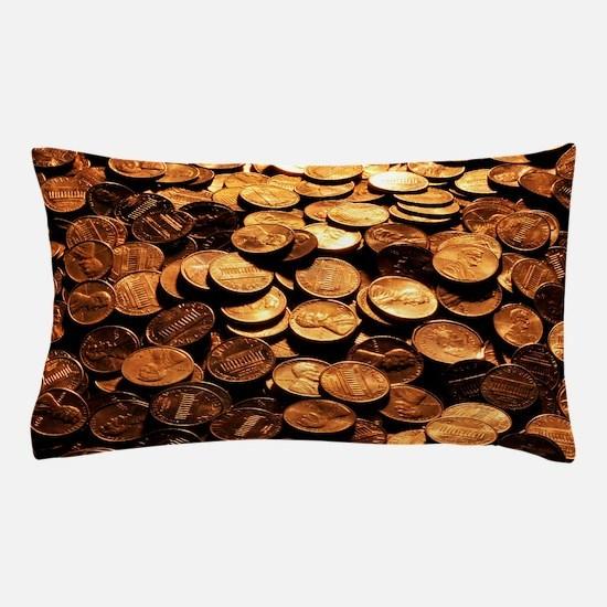 PENNIES Pillow Case