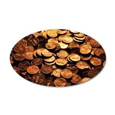 PENNIES Wall Decal