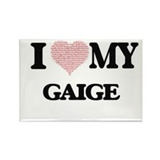 I Love my Gaige (Heart Made from Love my w Magnets