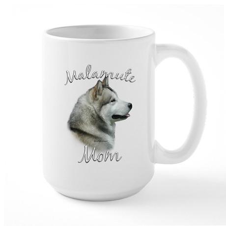 Malamute Mom2 Large Mug