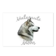 Malamute Mom2 Postcards (Package of 8)