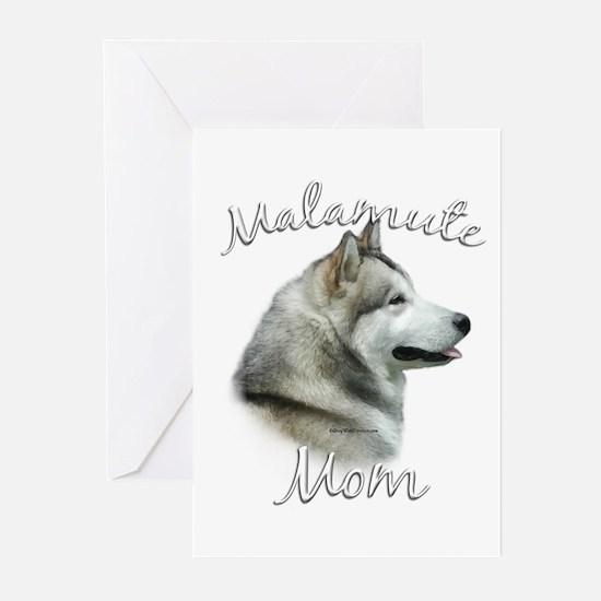 Malamute Mom2 Greeting Cards (Pk of 20)