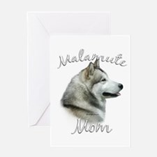 Malamute Mom2 Greeting Card