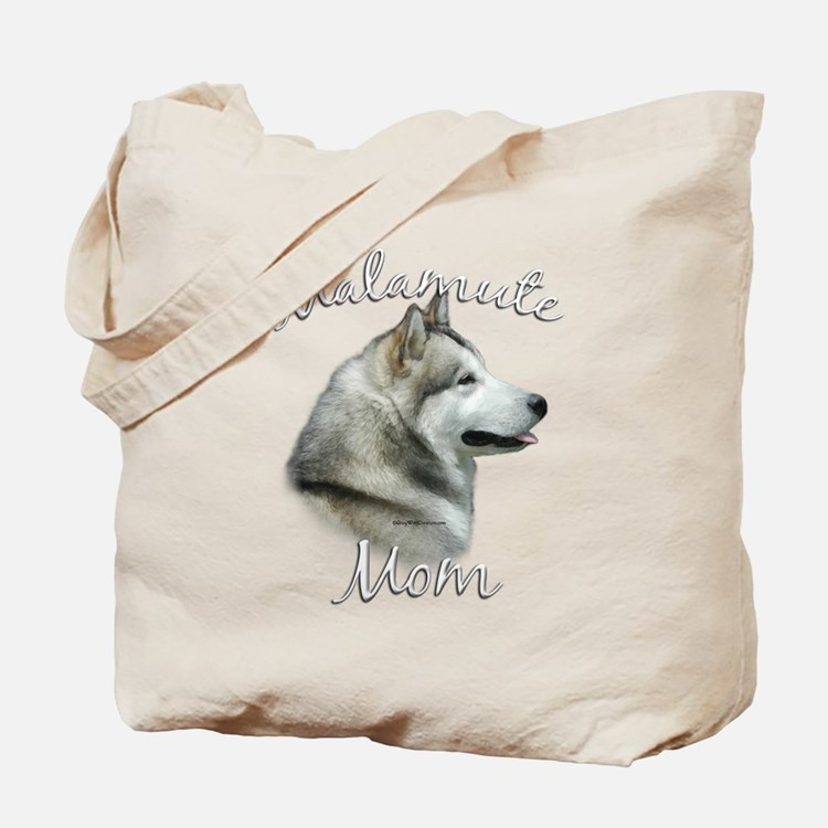 Malamute Mom2 Tote Bag