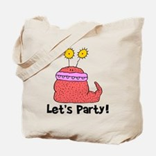 Let's Party Monster Tote Bag