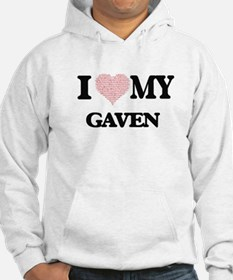 I Love my Gaven (Heart Made from Hoodie