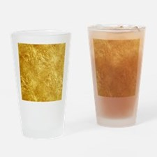 GOLD Drinking Glass