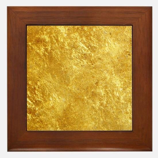 GOLD Framed Tile
