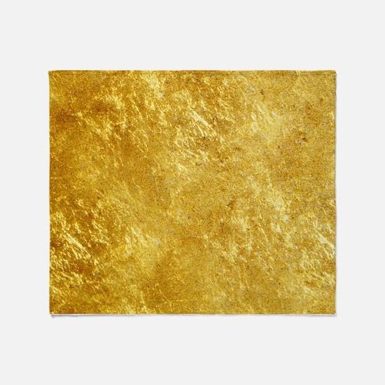 GOLD Throw Blanket