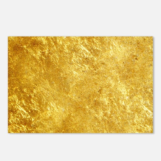 GOLD Postcards (Package of 8)