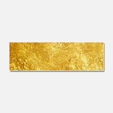 GOLD Car Magnet 10 x 3