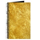 Gold Journals & Spiral Notebooks