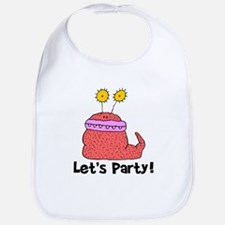 Let's Party Monster Bib