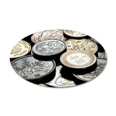 FOREIGN COINS Wall Decal