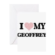 I Love my Geoffrey (Heart Made from Greeting Cards
