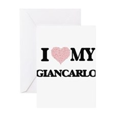 I Love my Giancarlo (Heart Made fro Greeting Cards