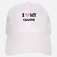 I Love my Gianni (Heart Made from Love my word Baseball Baseball Cap
