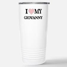 I Love my Giovanny (Hea Stainless Steel Travel Mug