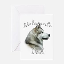 Malamute Dad2 Greeting Card
