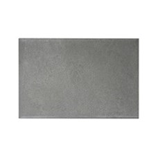 GREY SUEDE Rectangle Magnet