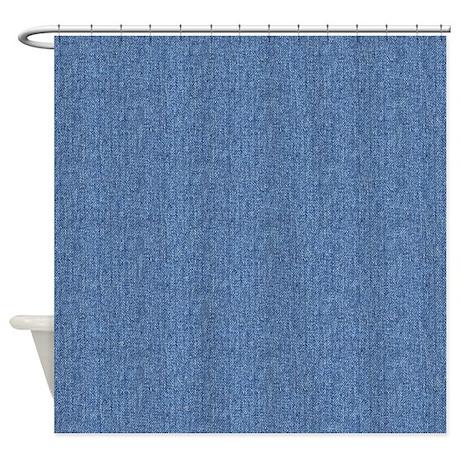 DENIM Shower Curtain By TrendiTextures