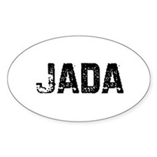 Jada Oval Decal