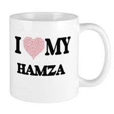 I Love my Hamza (Heart Made from Love my word Mugs