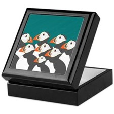 Puffin Keepsake Box