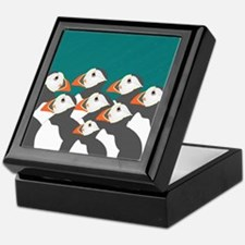 Puffin Keepsake Box