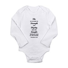 PROVERBS 31:25 Body Suit