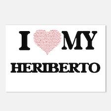 I Love my Heriberto (Hear Postcards (Package of 8)
