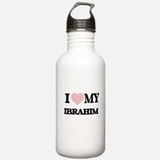 I Love my Ibrahim (Hea Water Bottle