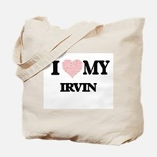I Love my Irvin (Heart Made from Love my Tote Bag