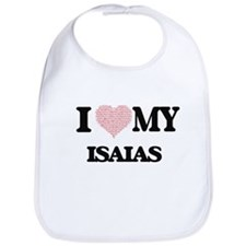 I Love my Isaias (Heart Made from Love my word Bib