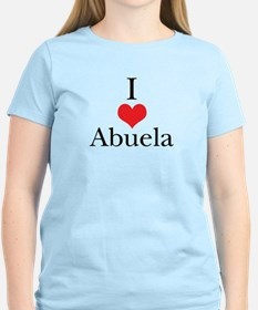 I Love (Heart) Abuela T-Shirt