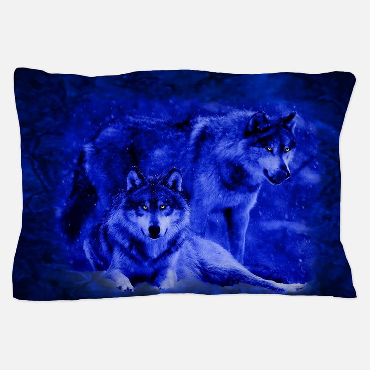 Wolf Pillow Case Bedroom Decor